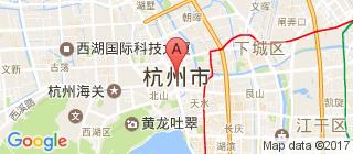 杭州的地图