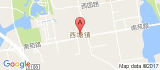 西塘的地图