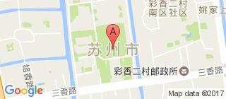 苏州的地图