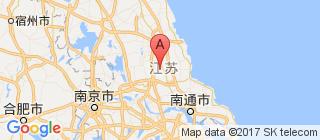 江苏的地图
