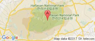 济州岛的地图