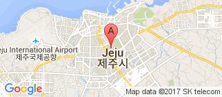 济州市的地图