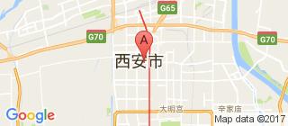西安的地图
