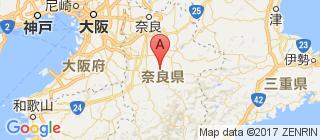 奈良的地图