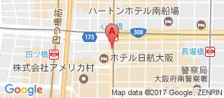 心斋桥的地图