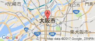 大阪的地图