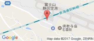 静冈机场的地图