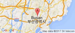 釜山的地图