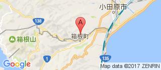 箱根的地图