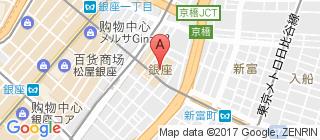 银座的地图