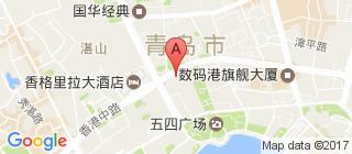 青岛的地图