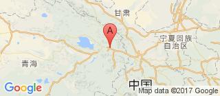 青海的地图