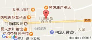 门源的地图