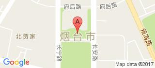 烟台的地图