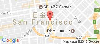旧金山的地图