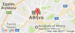 雅典的地图