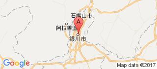 宁夏的地图