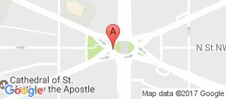 华盛顿的地图