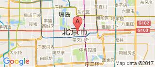 北京的地图