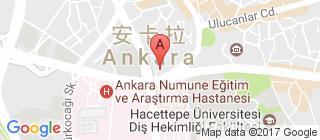 安卡拉的地图