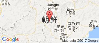 朝鲜的地图