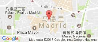 马德里的地图