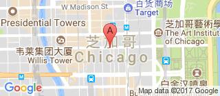 芝加哥的地图