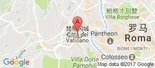 梵蒂冈的地图