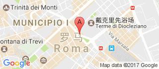 罗马的地图