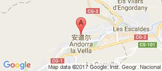 安道尔的地图