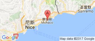 摩纳哥的地图