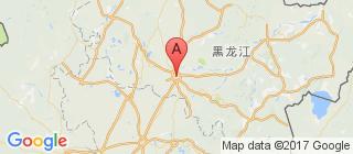 黑龙江的地图
