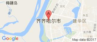 齐齐哈尔的地图