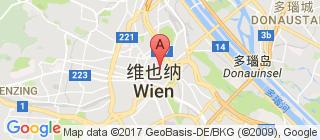 维也纳的地图