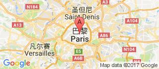 巴黎的地图