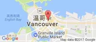 温哥华的地图