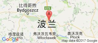 波兰的地图