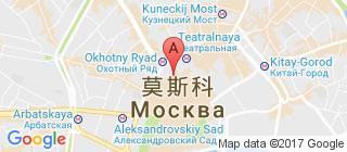 莫斯科的地图