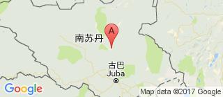南苏丹的地图