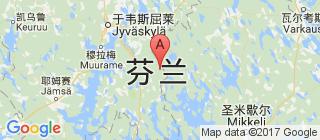 芬兰的地图