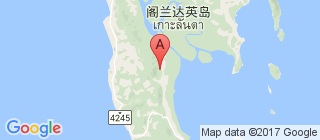 兰塔岛的地图