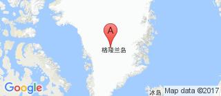格陵兰的地图